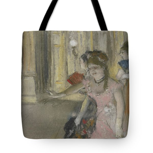 Singers On The Stage Tote Bag