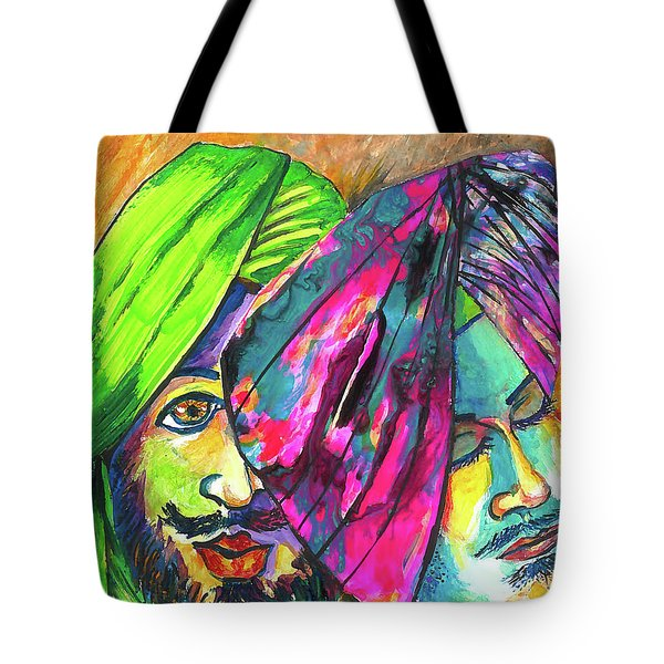 Singhs And Kaurs-7 Tote Bag