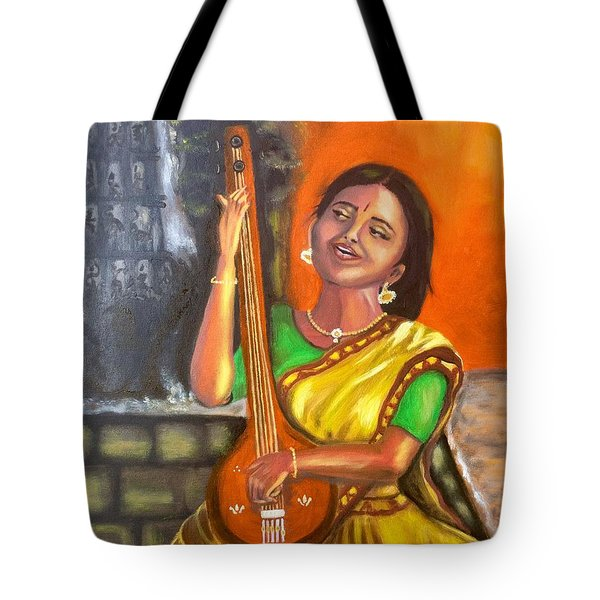 Singing @ Sunrise  Tote Bag by Brindha Naveen