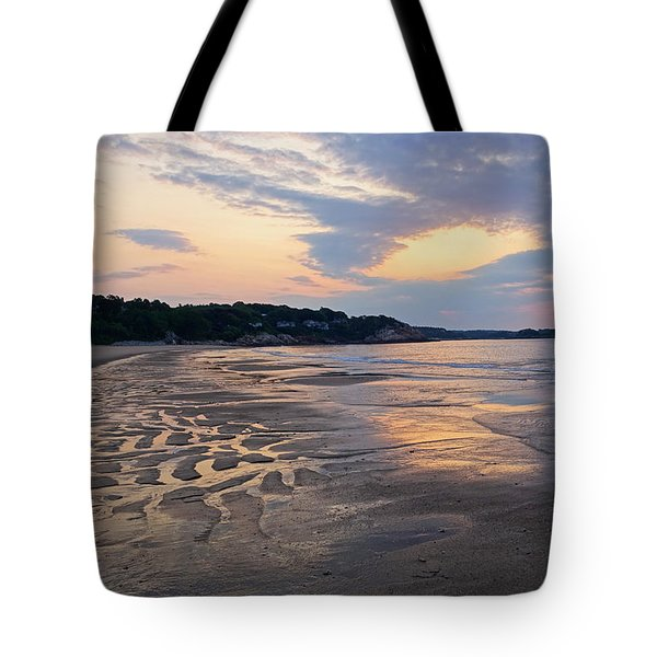 Singing Beach Sandy Beach Manchester By The Sea Ma Sunrise Tote Bag