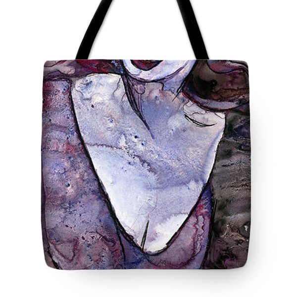 Singing Lady-rock And Roll Tote Bag