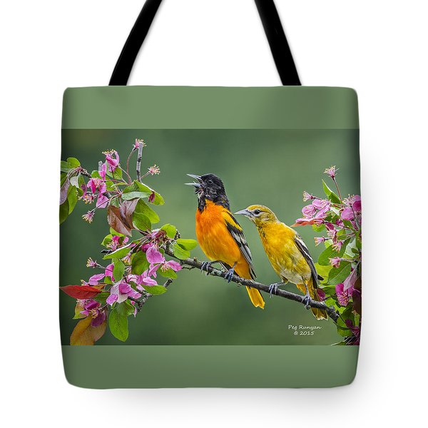 Singing To The Mrs. Tote Bag
