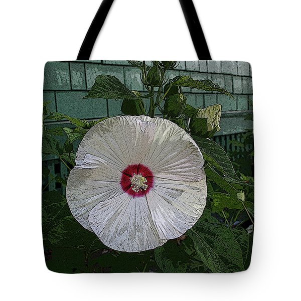 Single Bloom Tote Bag