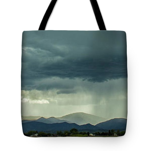 Tote Bag featuring the photograph Single Bolt by Tyson Kinnison