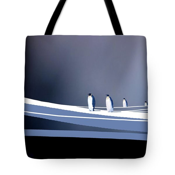 Single File Tote Bag by Paul Sachtleben