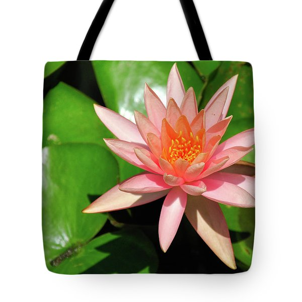 Single Flower Tote Bag