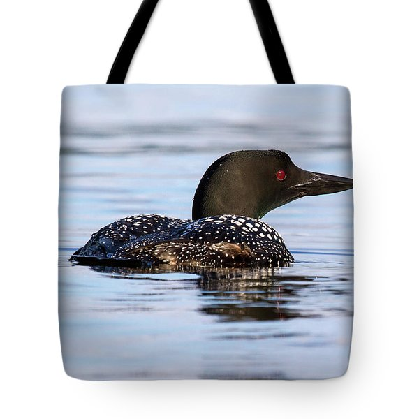 Single Loon Tote Bag