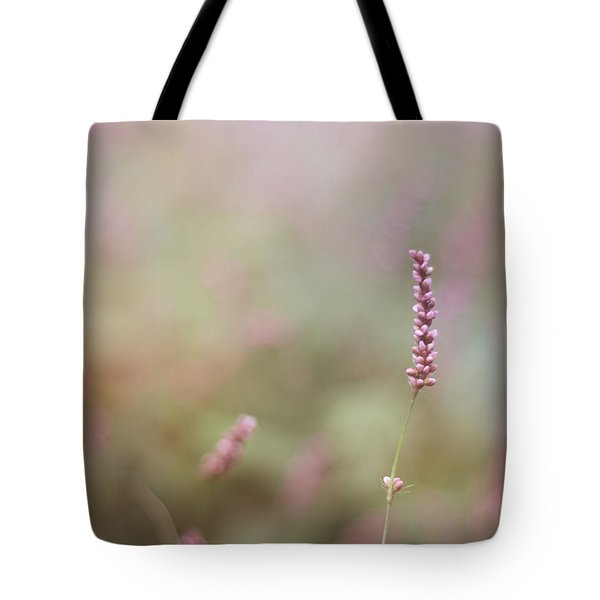 Single Wild Flower Tote Bag