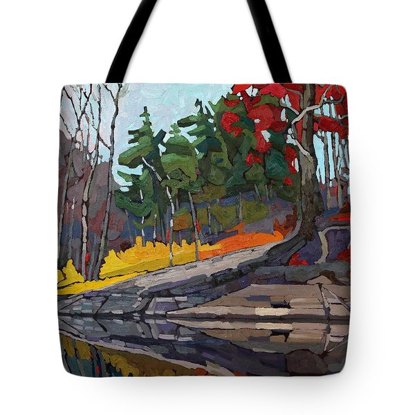 Singleton Autumn Tote Bag
