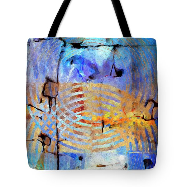 Tote Bag featuring the painting Singularity by Dominic Piperata