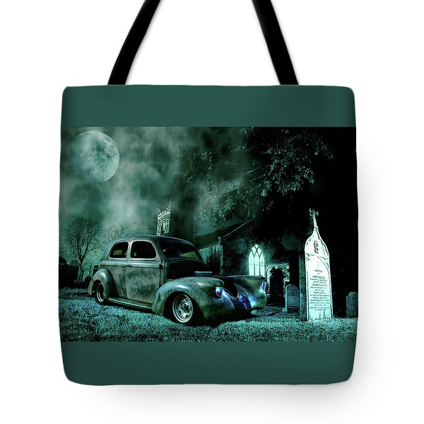 Sinister Tote Bag by Steven Agius