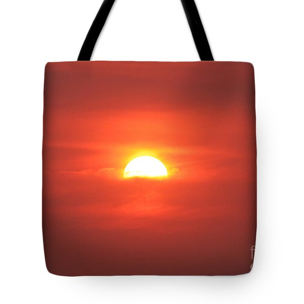 Sinking Into Clouds Tote Bag