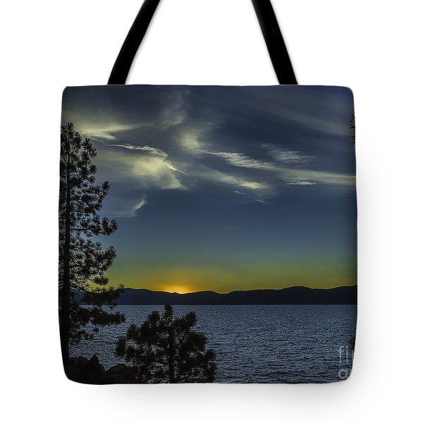 Sinking Sol Tote Bag by Nancy Marie Ricketts