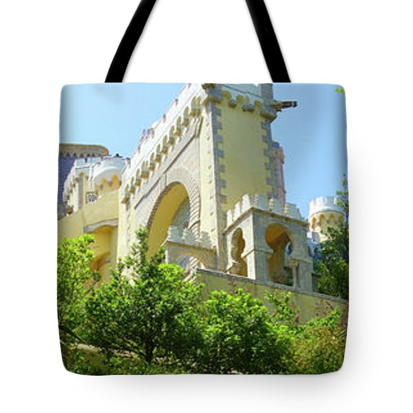 Tote Bag featuring the photograph Sintra Castle by Patricia Schaefer