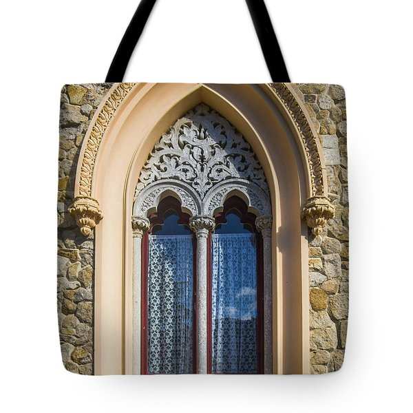 Tote Bag featuring the photograph Sintra Window by Carlos Caetano