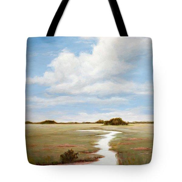 Sinuous Marsh Tote Bag