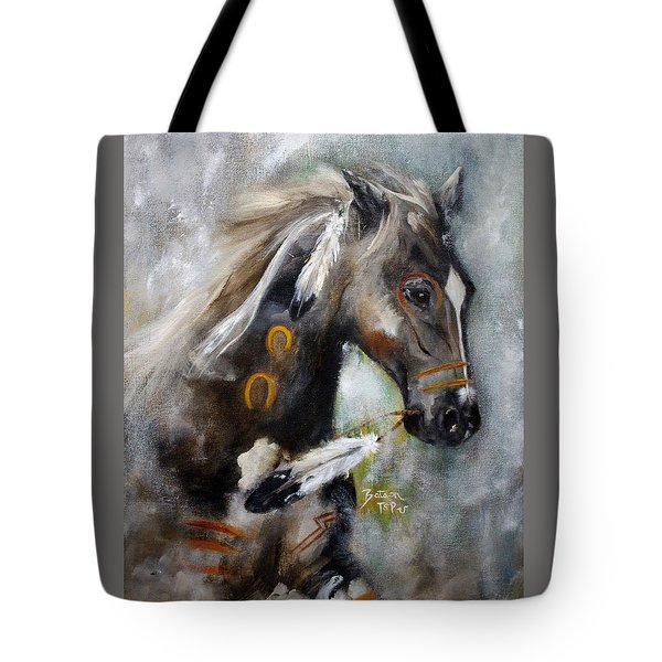 Sioux War Pony Tote Bag by Barbie Batson