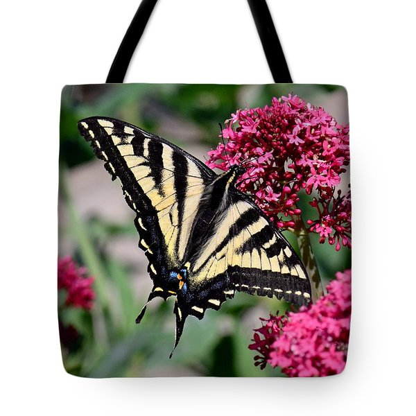 Sippin On Nectar - Swallowtail Tote Bag