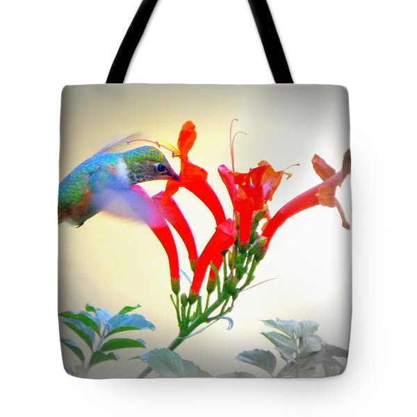 Sipping The Nectar Tote Bag