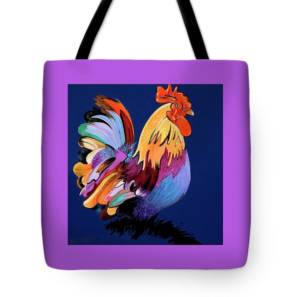 Sir Chanticleer Tote Bag
