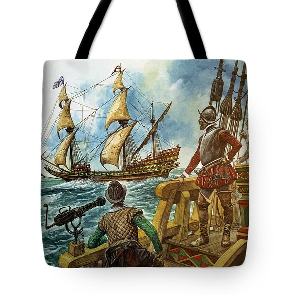 Sir Francis Drake Tote Bag