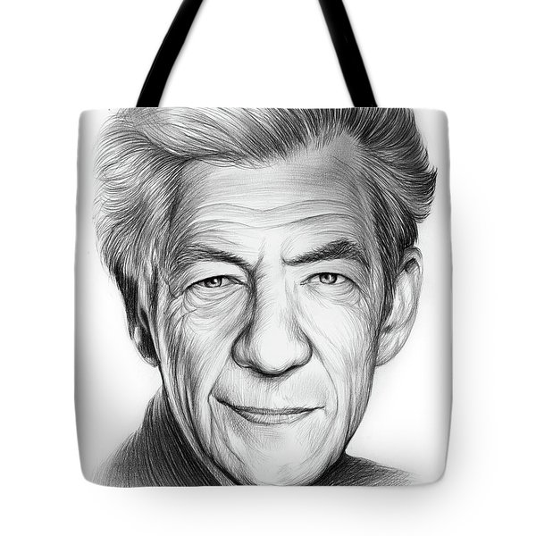 Sir Ian Murray Mckellen Tote Bag
