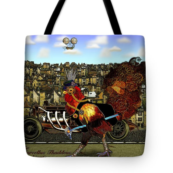 Sir Marcellus Thaddeus Cluckington Tote Bag