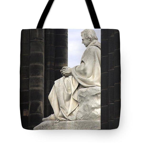 Sir Walter Scott Statue Tote Bag by Mike McGlothlen