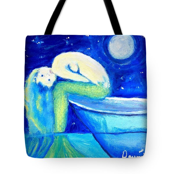 Siren Sea Tote Bag