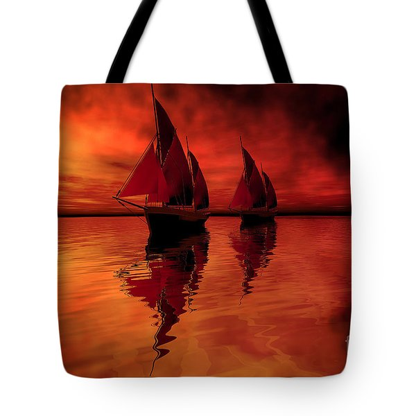 Siren Song Tote Bag by Corey Ford