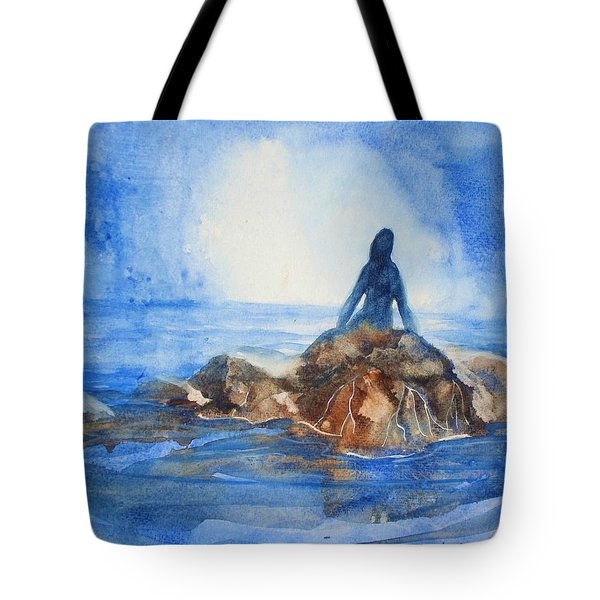 Siren Song Tote Bag by Marilyn Jacobson