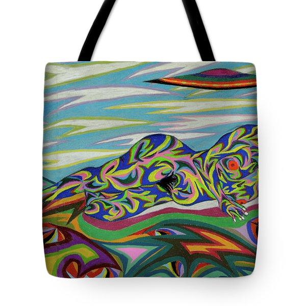 Sirene De Venus Tote Bag by Robert SORENSEN