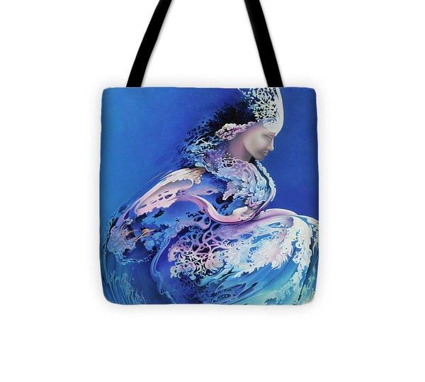 Sirenetta Tote Bag by Symona Colina