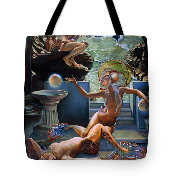 Sirenia Cove Tote Bag by Patrick Anthony Pierson