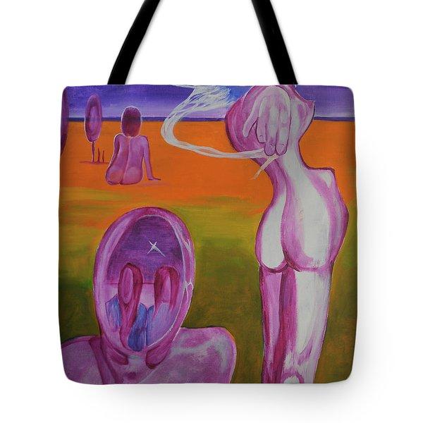 Sirens Tote Bag by Christophe Ennis