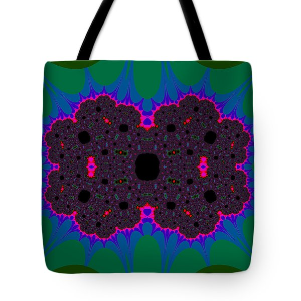 Tote Bag featuring the digital art Sirorsions by Andrew Kotlinski