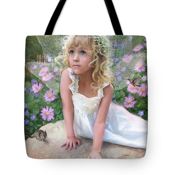 Sissy Fairy Tote Bag by Rob Corsetti