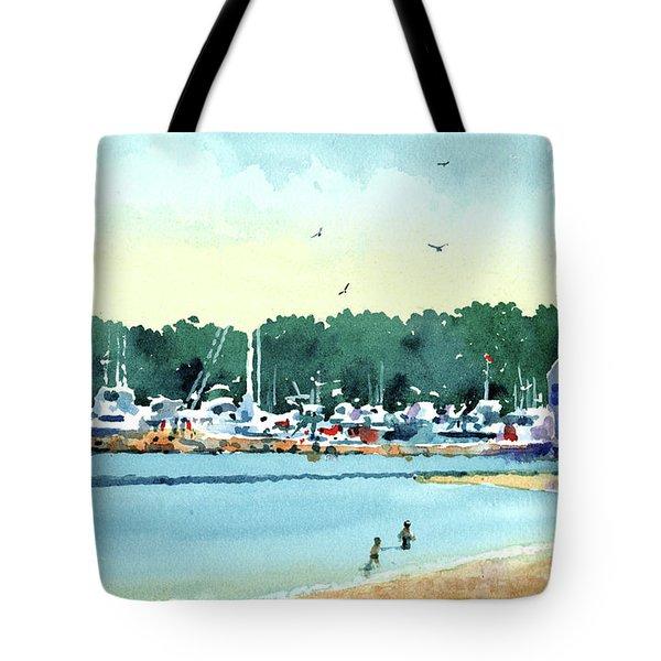 Sister Bay, Door County Tote Bag