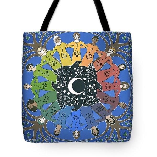 Sister Circle Tote Bag by Karen MacKenzie