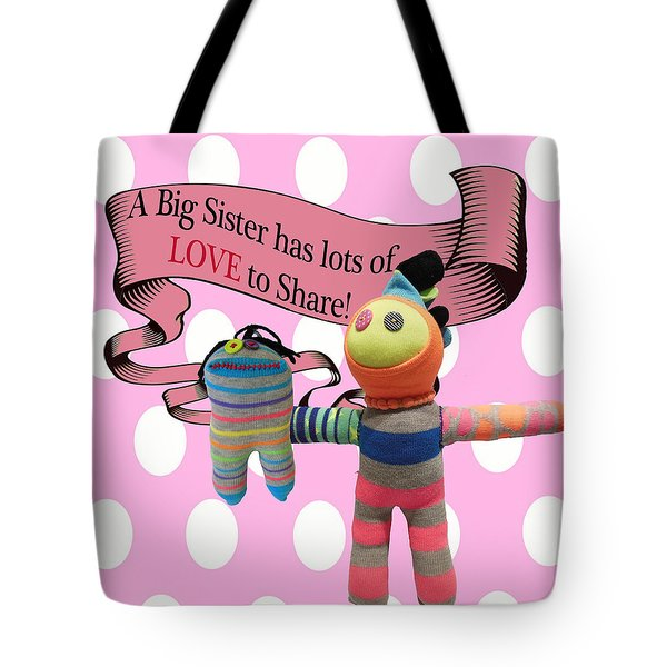 Sister Love Tote Bag