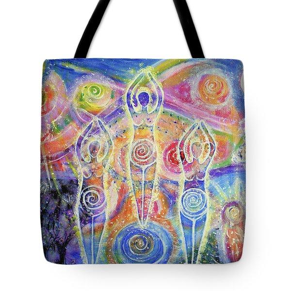 Sisterhood Of The Divine Feminine Tote Bag by Lila Violet