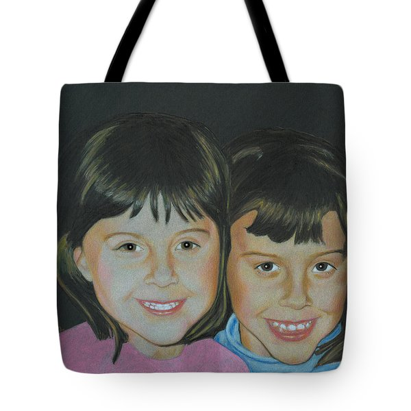 Sisters  Tote Bag by Ana Tirolese