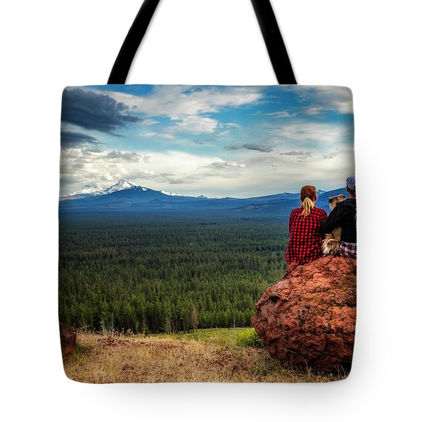 Tote Bag featuring the photograph Sisters by Cat Connor