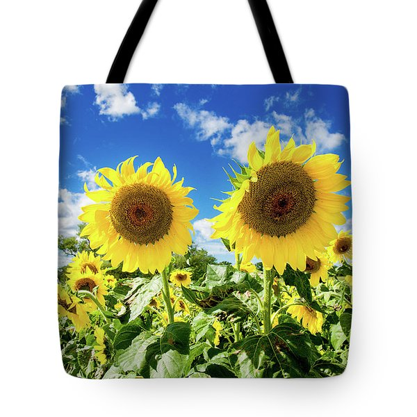 Tote Bag featuring the photograph Sisters by Greg Fortier