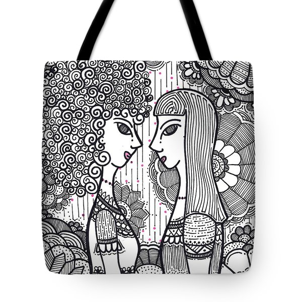 Sisters - Ink Tote Bag