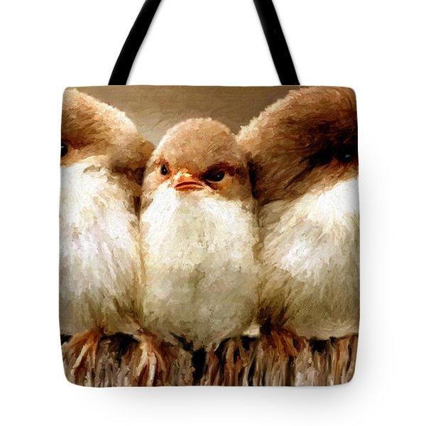 Sisters Tote Bag by James Shepherd