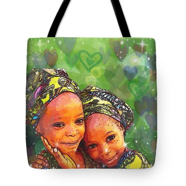 Sisters Love Tote Bag
