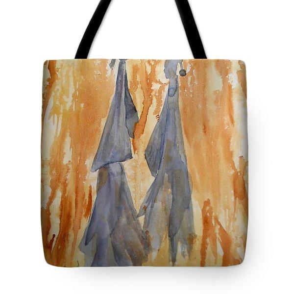 Sisters Tote Bag by Vicki  Housel