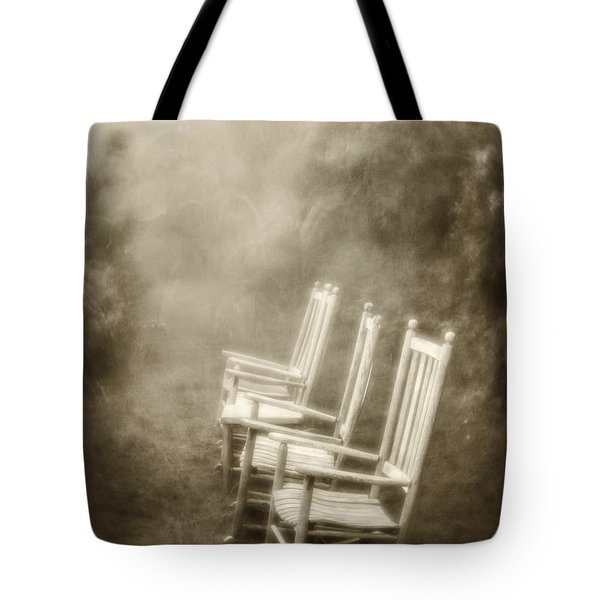 Sit A Spell-sepia Tote Bag