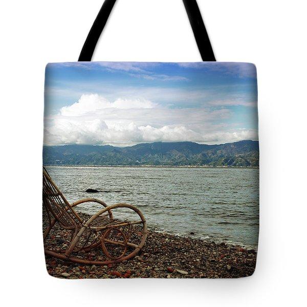 Sit Back And Enjoy Tote Bag